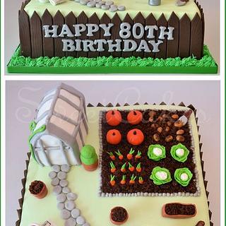 Allotment Cake