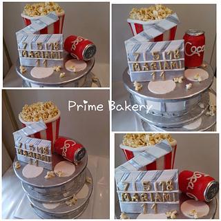 Cinema cake 🎬❤️