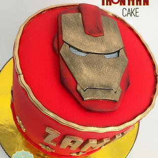 Torta Iron Man - Cake by Dulcepastel.com