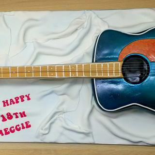 Acoustic Guitar - Cake by Sarah Poole