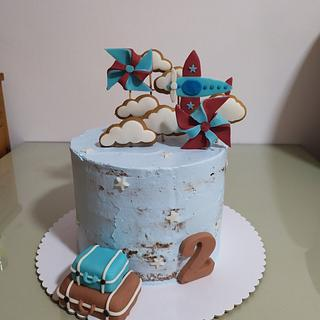 Clouds in the sky - Cake by Dragana84