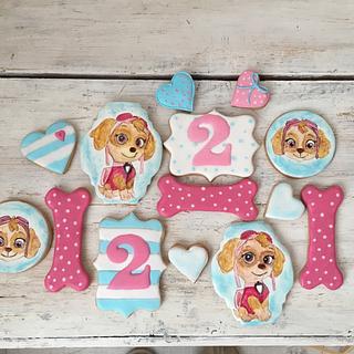 Paw Patrol Skye Cookies