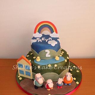 Peppa pig Rainbow days