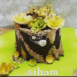 Flowery Spring cake