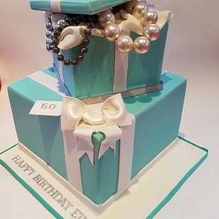 Tiffany Design Cake