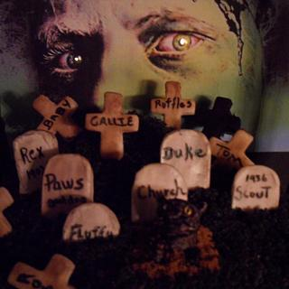 Pet Sematary - Cake by Janice Barnes - Jan's Sugarland of Cakes