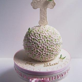 Niki's First Communion Cake - Cake by Tea Party Cakes
