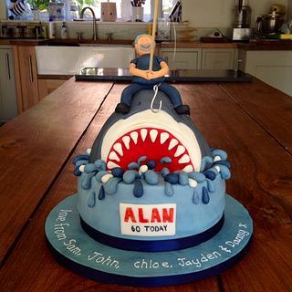 Sea Fishing Cake