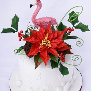 A special Christmas cake for a special friend
