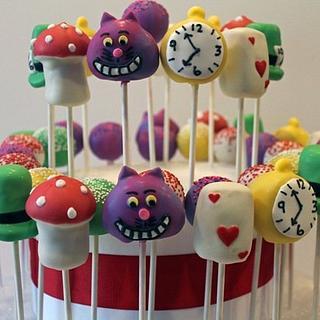 Wonderland Cakepops