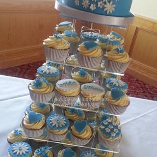 Blossoms Wedding Cupcakes