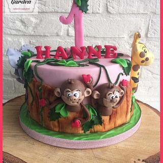 animal cake - Cake by Cake Garden
