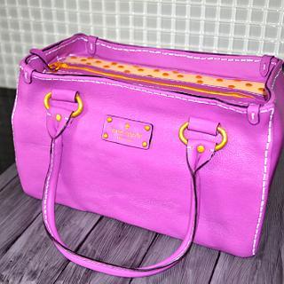 Kate Spade purse cake