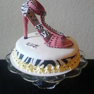 High Heel Stiletto Cake