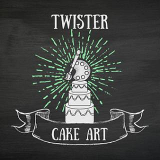 Twister Cake Art