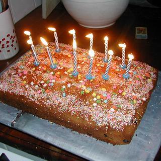 Simple and yummy birthday cake
