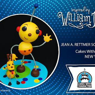 Inspired by William Joyce Rolie Polie Olie!