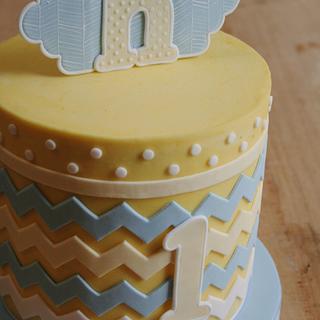 1st birthday cake :)