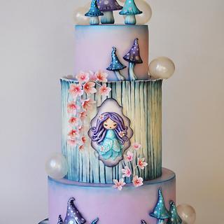 Enchanted - Cake by ArchiCAKEture