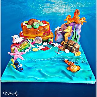 Finding Nemo - Cake by Wendy
