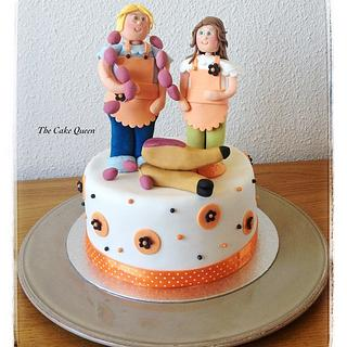 Delicatessen girls cake!!!!