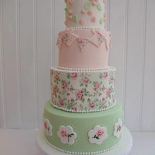 Vintage Weding cake