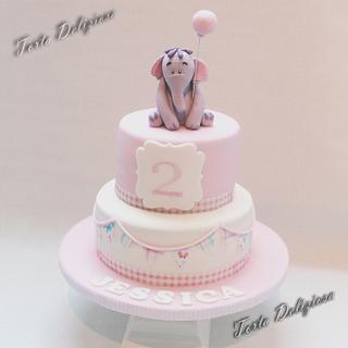 Cute Olifant Cake - Cake by Torta Deliziosa