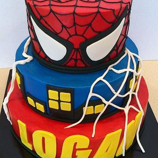Spidey city - Cake by res3boys
