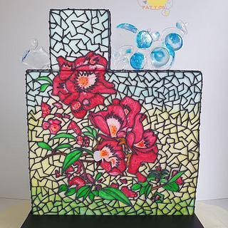 PRIMAVERA EN MADRID  *stained glass challenge 2019*