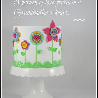 Little garden cake