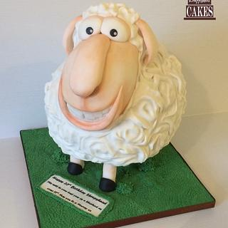 Crazy sheep - Cake by Dragons and Daffodils Cakes
