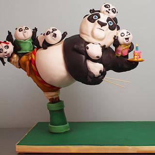 Kung Fu Panda 3D Cake