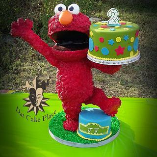 3d Elmo Cake