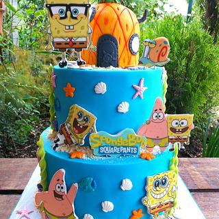 Sponge Bob cake 🎂🎂🎂