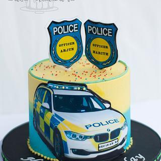 Wondrous Police Birthday Cake 5 Cakes Cakesdecor Funny Birthday Cards Online Hendilapandamsfinfo