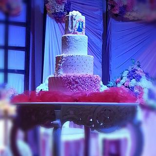 wedding cake for my brother Ryan - Cake by velinacakes