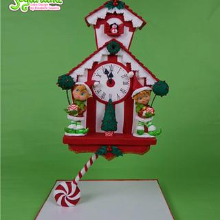 Christmas Cuckoo Clock - CPC Christmas Collaboration