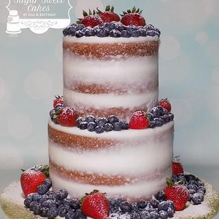 Naked Berries - Cake by Sugar Sweet Cakes