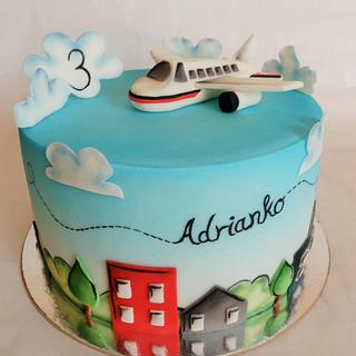 In the sky - Cake by Veronika