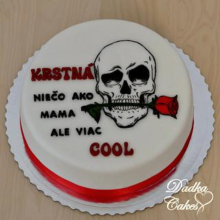 Cake for godmother
