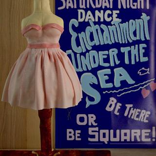 Lorraine's Prom Dress - Back to the Future