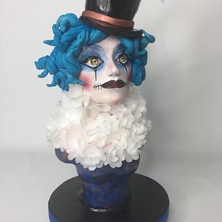 Femme de Cirque - Cake by Lesi Lambert - Lambert Academy of Sugar Craft