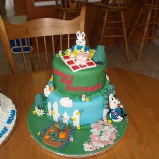 Max and Ruby Birthday Cake