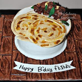Kerala Parotta Themed Cake - Cake by My Culinary Experiments by Vaishali Nagarajan