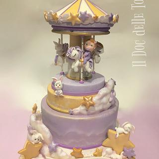 Sweet Stars Carousel Cake