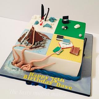 Shipwrecks ,kracken,books,Boulez&lets ski