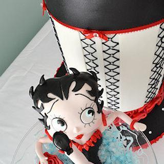 The Sugar Nursery's Betty Boop Cake - Cake by The Sugar Nursery - Cake Shop & Imaginarium
