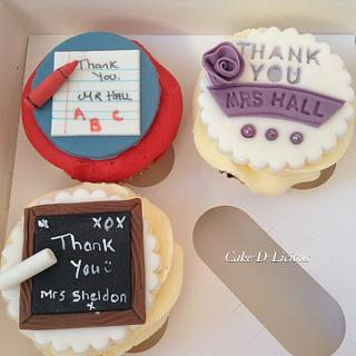 Teacher Cupcakes  - Cake by Sweet Lakes Cakes