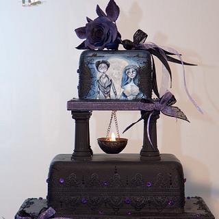 Gothic Chic for Samhain wedding