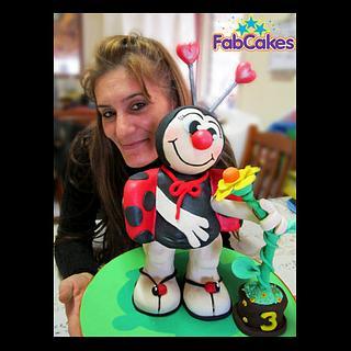3d Ladybird Cake